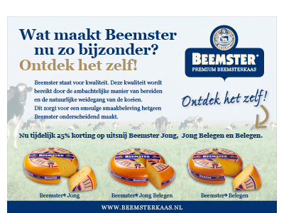 Beemster advertentie